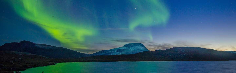 Schweden Urlaub Polarlichter
